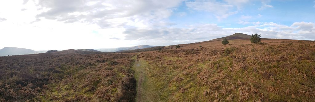The Sugar Loaf and the Skirrid